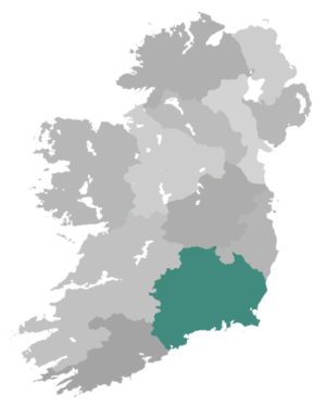 Diocese of Cashel and Ossory - Diocese Highlighted