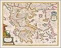 Ca. 1645 map of Greece by Johannes et Cornelis Blaeu.jpg