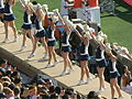 Cal Dance Team at 2008 Big Game 1.JPG