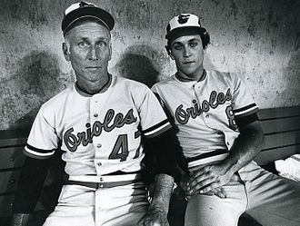 Cal Ripken Jr. - Cal Ripken Sr. and Jr. in 1982
