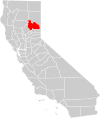 California county map (Plumas County highlighted).svg