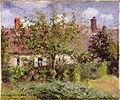 Camille Pissarro - Vieilles maisons à Éragny 1884.jpg