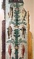Camillo mantovano, resti di affreschi della sala di psiche con candelabre vegetali che sorreggono cacciagione e pesci, 1538-39 ca. 08.jpg