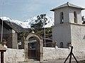 Campanario de la iglesia de Putre, Provincia de Parinacota, norte de Chile.jpg