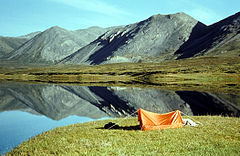 Camping on unnamed lake in Brooks Range.jpg