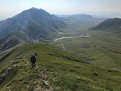 The Campo Imperatore plateau forms part of the park