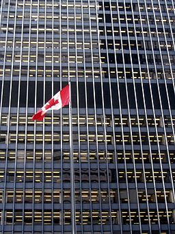 Canada Flag at Toronto-Dominion Centre