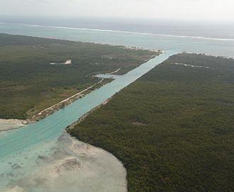 Othón P. Blanco, Quintana Roo - Image: Canal de zaragoza