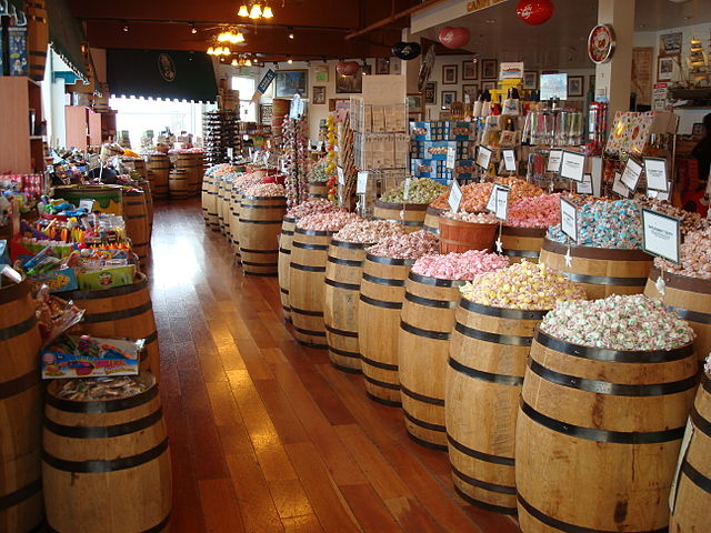 Old Fashioned Candy Store Sacramento