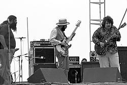Skupina Canned Heat na Woodstock Reunion v roku 1979