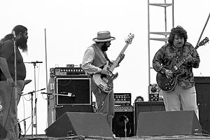Canned Heat - Image: Canned Heat at Woodstock Reunion 1979