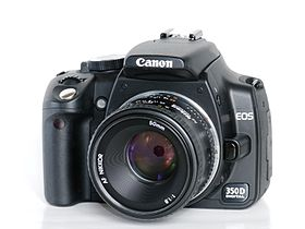 Image illustrative de l'article Canon EOS 350D