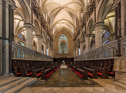 The 12th-century quire Canterbury Cathedral Choir 2, Kent, UK - Diliff.jpg