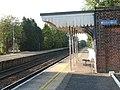 Cantley station - shelter on platform 2 - geograph.org.uk - 1520964.jpg