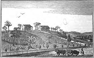 Republic of Maryland - Cape Palmas mission, circa 1840.