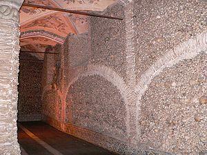 Capela dos ossos parede