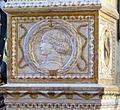 Cappella degli antenati, elefanti malatestiani e dado con stemmi e ritratto s.p. malatesta, dx 02,4.jpg