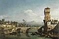 Capricho con río y puente, de Bernardo Bellotto.jpg