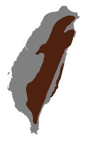 תפוצת הסרו הטאיוואני