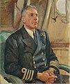 Captain W. G. Agnew, CB, CVO, DSO, of HMS Vanguard by Stephen Bone IWM IWM LD 5782.jpg