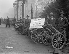 Captured trench mortars in London, 1918.jpg