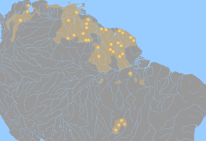 Cariban languages.png