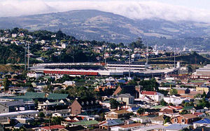 Scottish New Zealanders - Carisbrook, home ground of the Highlanders in Dunedin