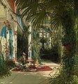 Carl Blechen - Das Innere des Palmenhauses auf der Pfaueninsel bei Potsdam.jpg