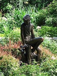 Carl Schurz Park Peter Pan statue