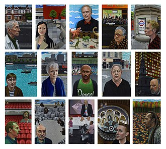 Carl Randall - Image: Carl randall london portraits paintings