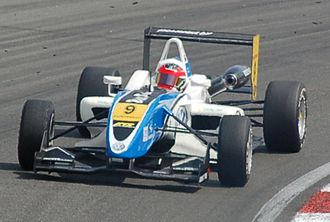 Carlos Muñoz (racing driver) - Muñoz at Zandvoort in 2011