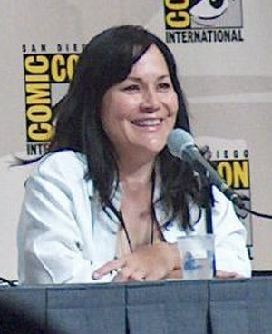 "Treehouse of Horror XI - Carolyne Omine wrote the last segment ""Night of the Dolphin""."
