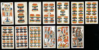 Suit of cups playing card suit