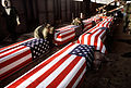 Caskets containing the dead from Arrow Air Flight 1285.jpg