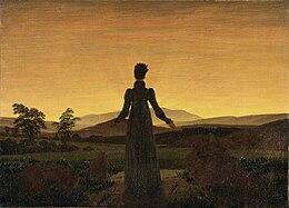 Caspar David Friedrich - Frau vor untergehender Sonne.jpg