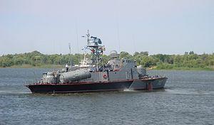 Matka-class missile boat - Image: Caspian MRK 702