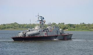 class of Soviet hydrofoil missile boats