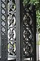 Cast Iron Gate Pillar Detail - Serampore College - Hooghly 2017-07-06 0871.JPG