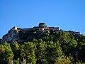 Castell Menor, Xàtiva, des de l'ermita de Sant Josep.JPG