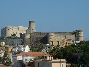 Gaeta - Castle of the houses of Anjou and Aragon