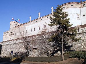History of Trentino - The Prince-Bishops of Trent ruled the region from Buonconsiglio Castle since the 13th century