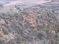 Castillejo de Restábal (Granada). Cubo de la muralla noroeste..JPG