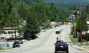 Castlegar, British Columbia - Columbia Avenue