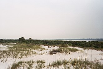 Cat Island (Mississippi) - View of South side of Cat Island.