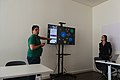 Catarina Reis and Miguel Mimoso Correia in the Wikidata Days 2019 02.jpg