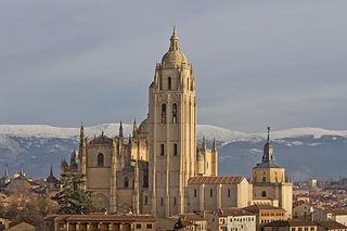 cathedral in Segovia, Spain