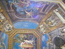 Datei:Ceiling of the Sala delle Muse - Vatican Museums.ogv