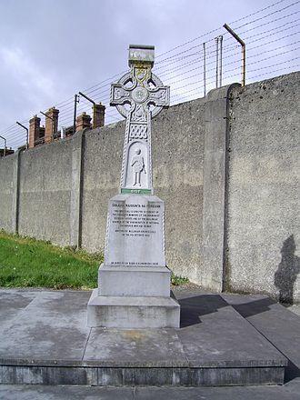 Columb Barracks - Memorial at Columb Barracks