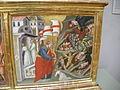 Cenni di francesco, incoronazione della vergine con sannti, anni 1390, predella 01.JPG