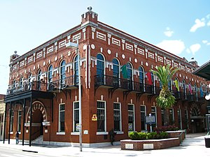 Spanish Americans - El Centro Español de Tampa is a cultural house built in 1912 in the Ybor City neighborhood of Tampa, Florida.
